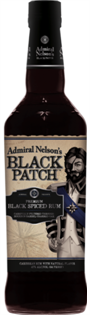 Admiral Nelson's Rum Black Spiced Black Patch 750ml